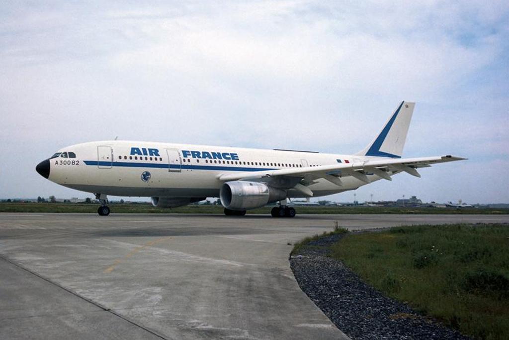 A legelső Airbus átadás 1974-ben volt. Az A300-as Airbust az Air France vette át. (Fotó: Airbus) | © AIRportal.hu