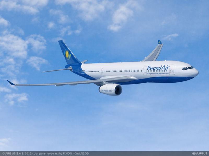 RwandAir A330ceo látványterv. (Forrás: Airbus) | © AIRportal.hu