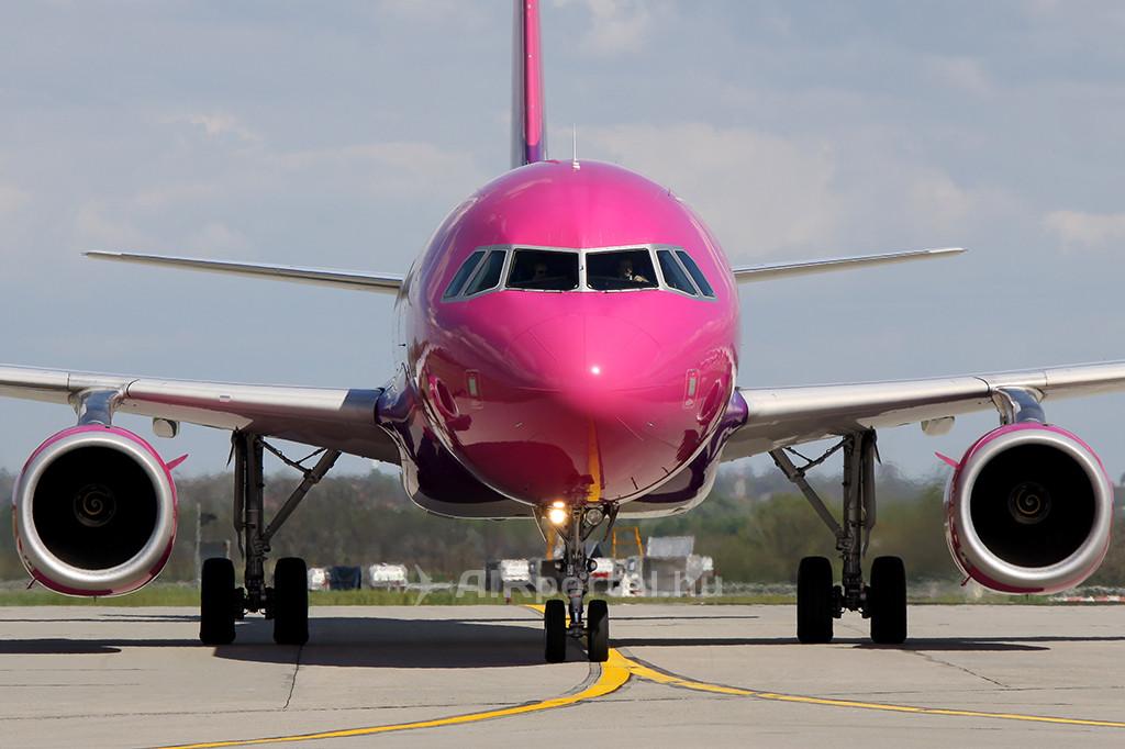 A Wizz Air egyik A320-as gépe. (Fotó: AIRportal.hu) | © AIRportal.hu