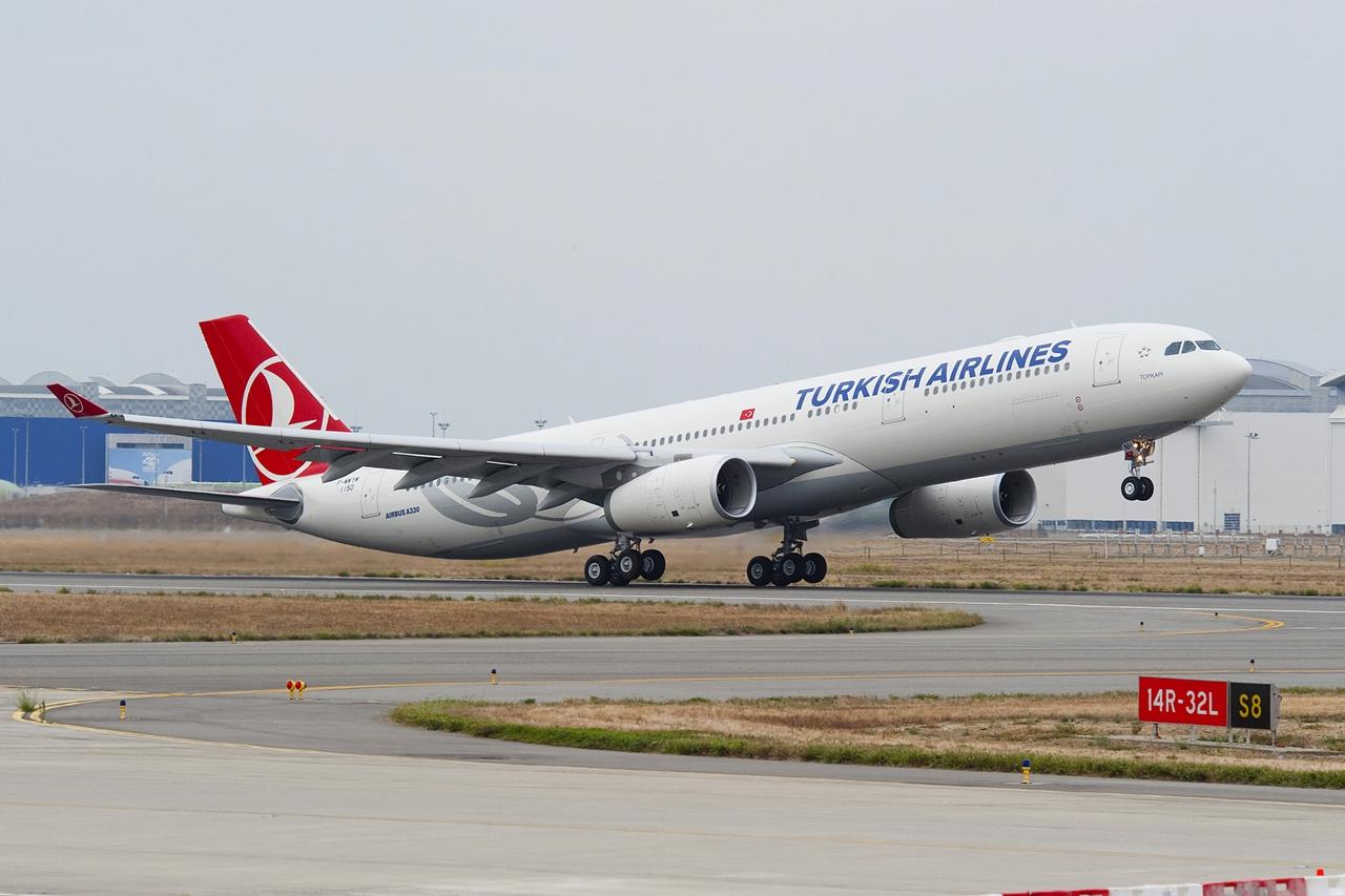 A Turkish Airlines első A330-300-asának átvétele, 2010  szeptemberében. (Fotó: Airbus) | © AIRportal.hu
