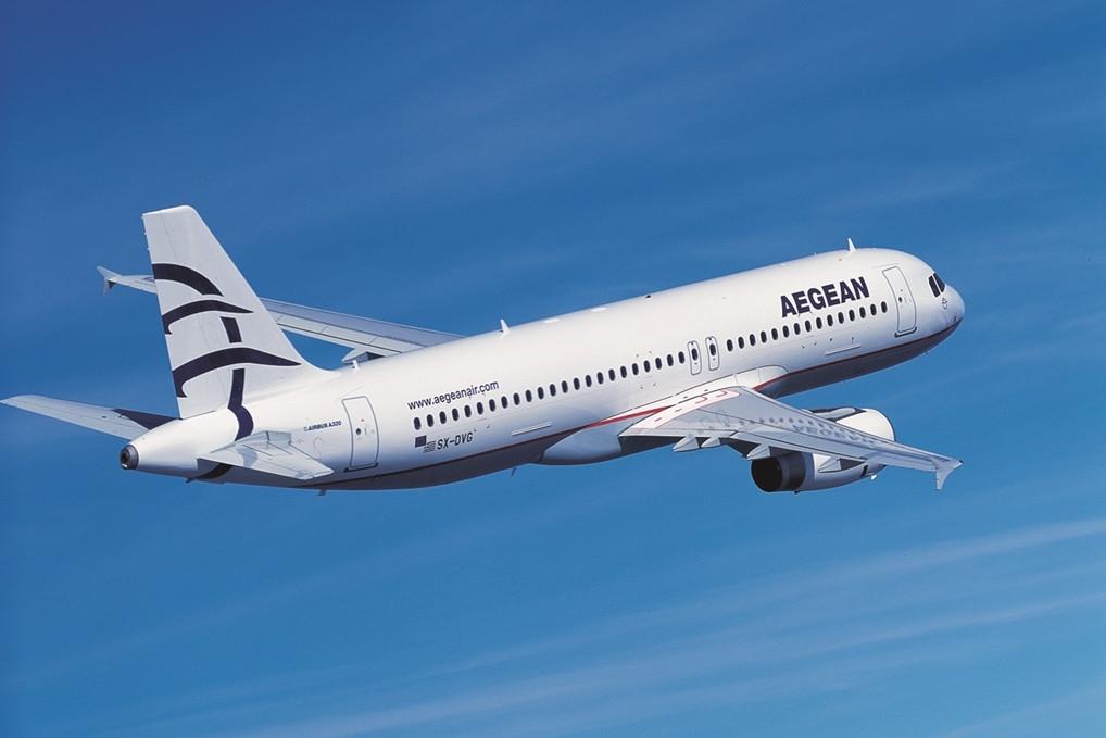 Az Aegean-flotta jelenleg 1 darab A319-est, 29 darab A320-ast és 7 darab A321-est számlál. (Fotó: Aegean Airlines) | © AIRportal.hu