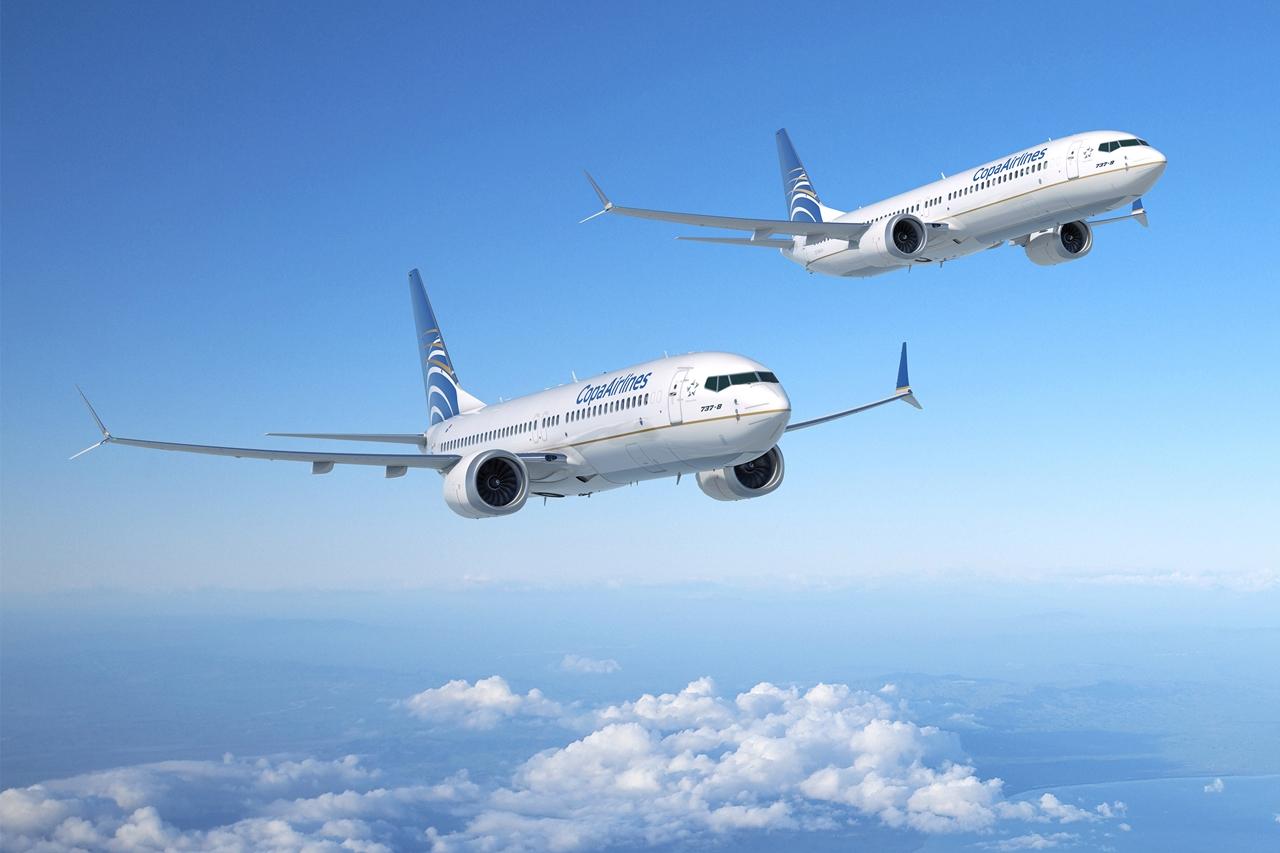 Copa Airlines Boeing 737 MAX-8 és MAX-9 látványterv. (Forrás: Boeing Company) | © AIRportal.hu