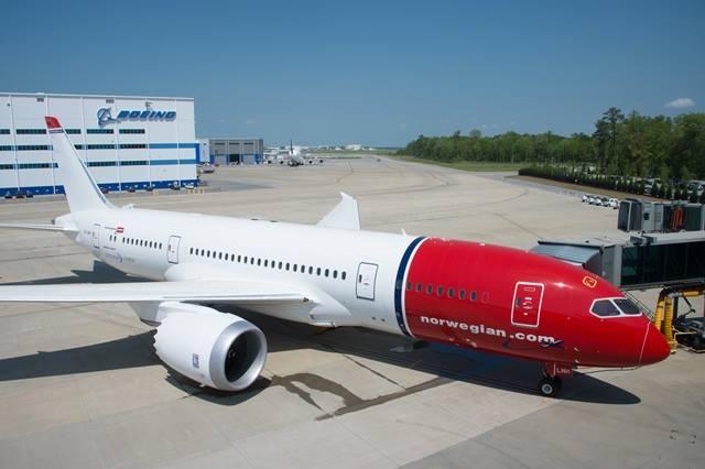 A Norwegian legújabb Dreamlinere. (Fotó: Norwegian) (A képre kattintva galéria nyílik!) | © AIRportal.hu