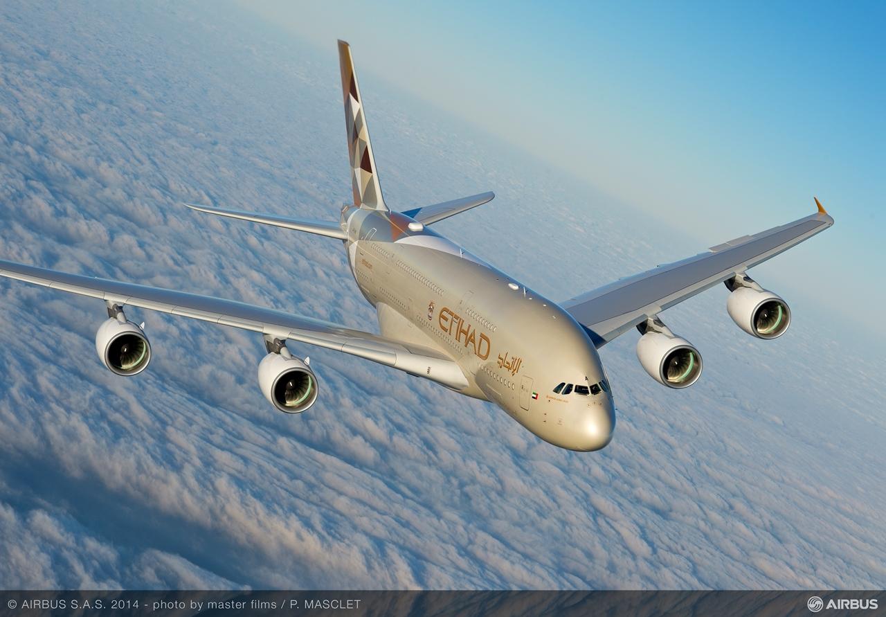 Eddig összesen tizenhárom A380-800-as üzemeltető van. A legutóbb 2014 végén az Etihad Airways vette át az első Superjumbóját. (Fotó: Airbus) | © AIRportal.hu
