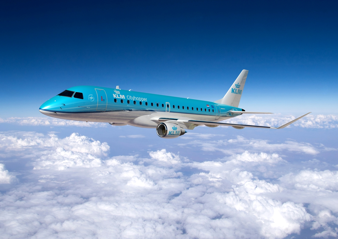 Az Air France-KLM márciusi megrendelésére készült Embraer látványterv. (Forrás: Embraer) | © AIRportal.hu