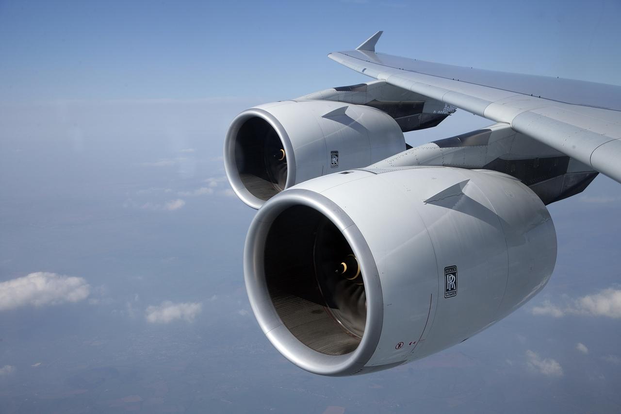 Rolls-Royce Trent 900 hajtóművek az A380-800-ason. (Fotó: Rolls-Royce) | © AIRportal.hu