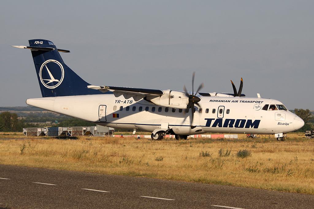 Képünk illusztráció, nem tudjuk, hogy Ponta a Tarom melyik gépével utazott. (Fotó: AIRportal.hu)   © AIRportal.hu