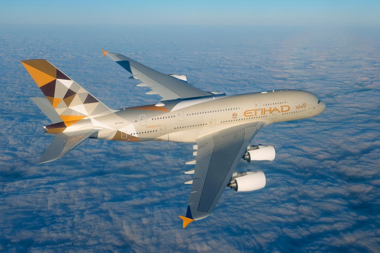 Legutóbb 2014 végén az Etihad Airways vett át új üzemeltetőként A380-800-ast. (Fotó: Airbus)   © AIRportal.hu