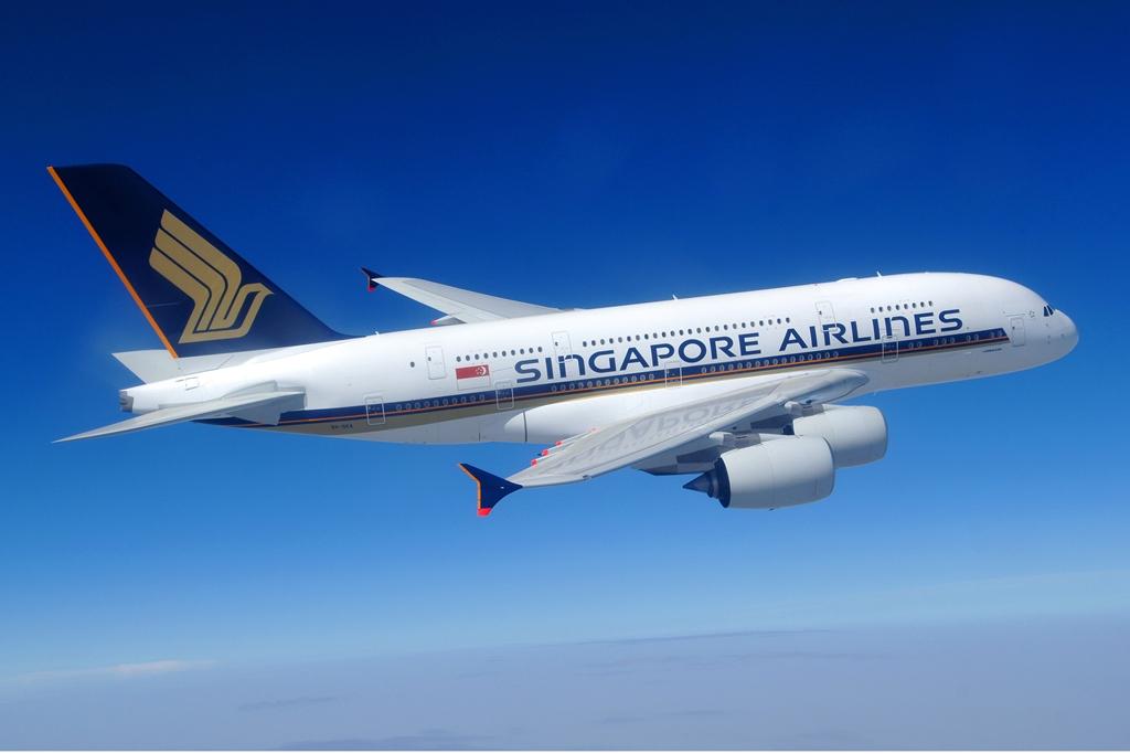 Singapore Airliens, az indító légitársaság, amely 2007 októberében elsőként állította forgalomba az A380-800-ast. (Fotó: Airbus)   © AIRportal.hu