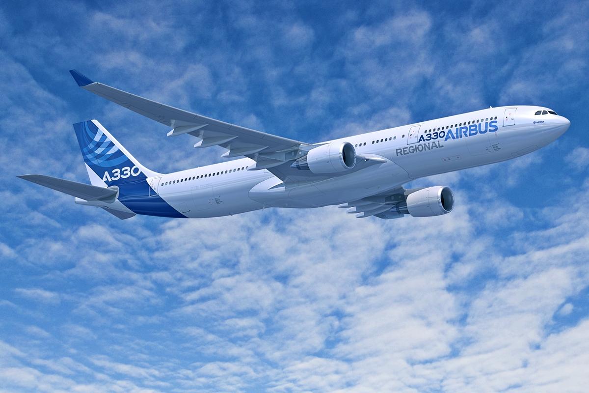 Airbus által a program meghirdetésekor közölt, az A330-300-ason alapuló A330 Regional látványterve. (Forrás: Airbus)   © AIRportal.hu