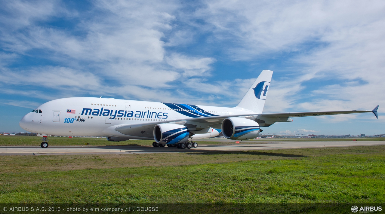 Malaysia Airlines A380-800. (Fotó: Airbus)   © AIRportal.hu