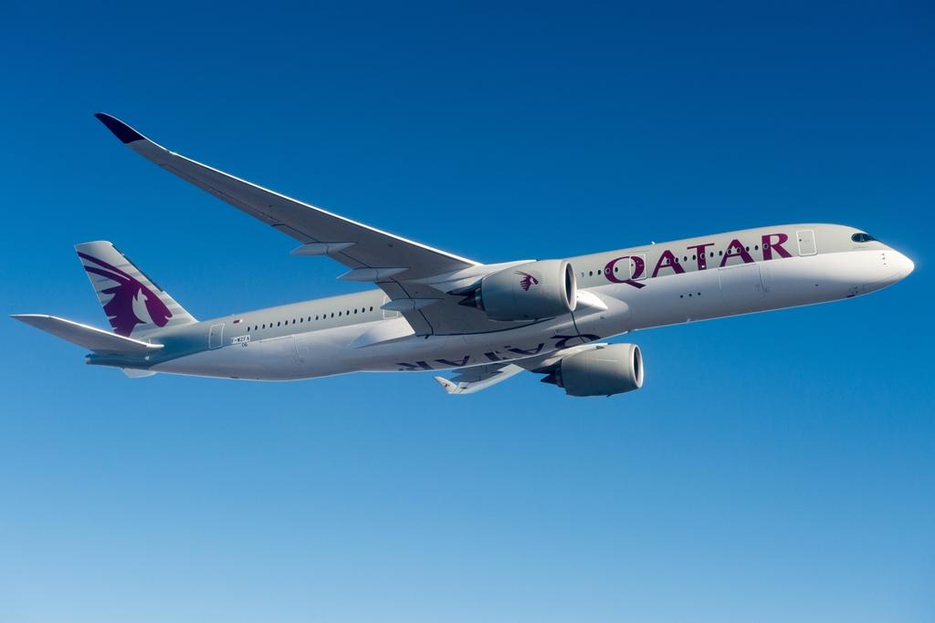 A katari A350-900-asok kétosztályos fedélzeti elrendezéssel működnek, összesen 283 utasnak férőhelyet adva. (Fotó: Airbus)   © AIRportal.hu