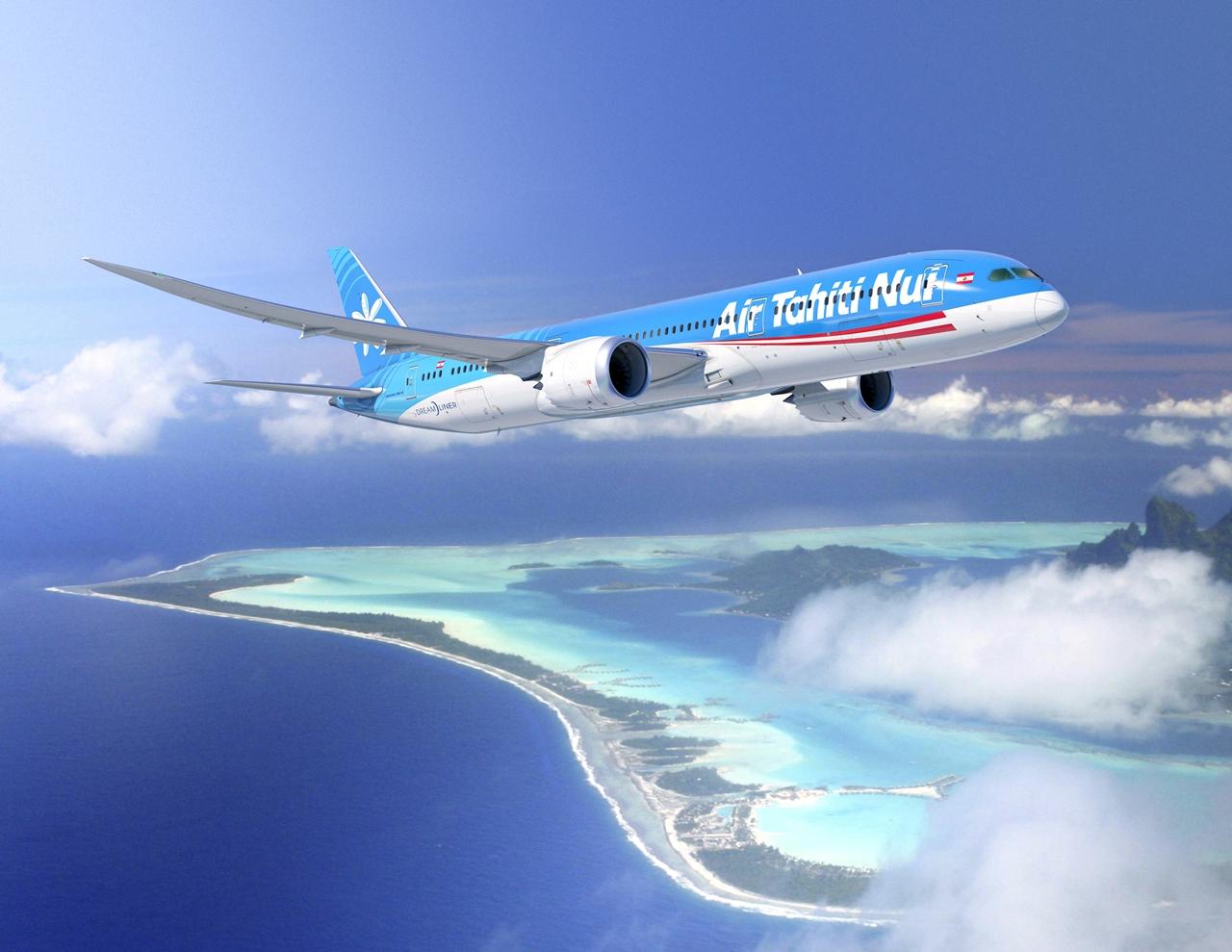 Air Tahiti Nui Boeing 787-9 Dreamliner computer rendering. (Forrás: Boeing Company) | © AIRportal.hu