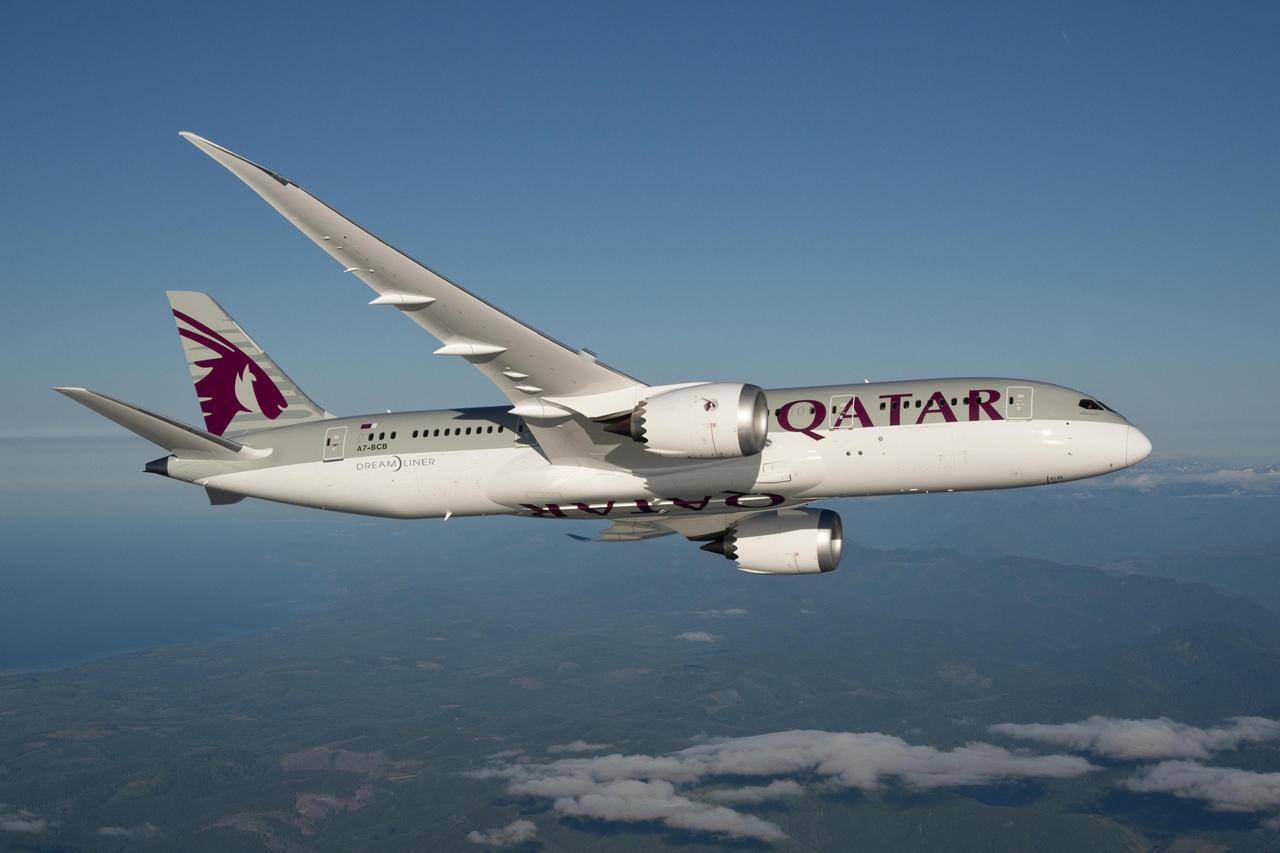 A Qatar-flottának jelenleg 21 darab Boeing 787-8-asa van szolgálatban. Megrendelési szerződésük összesen 30 darab gépre szól a típusból. (Fotó: Qatar Airways) | © AIRportal.hu