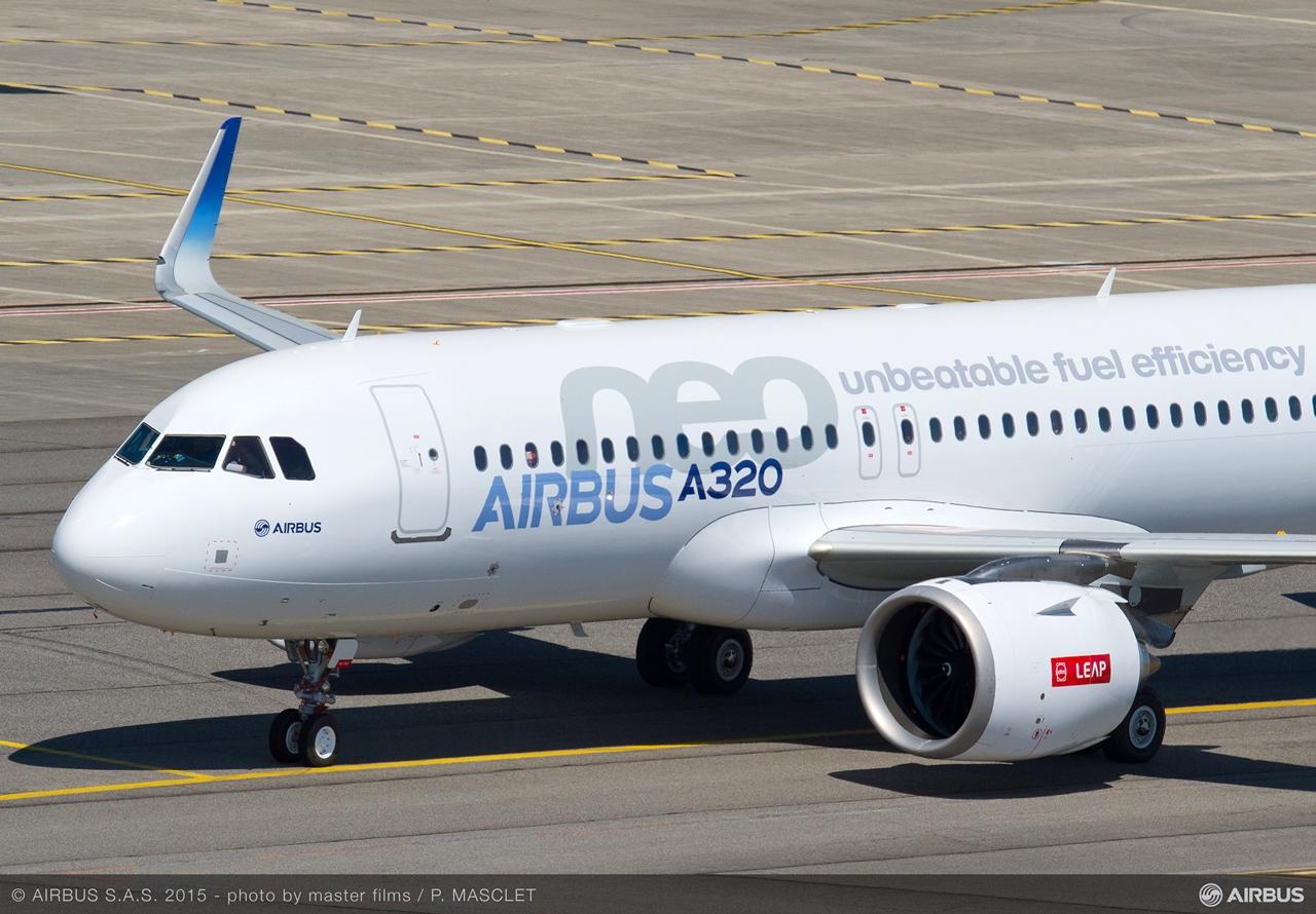 Itt pedig megintcsak gurulás közben. (Fotó: Airbus)   © AIRportal.hu