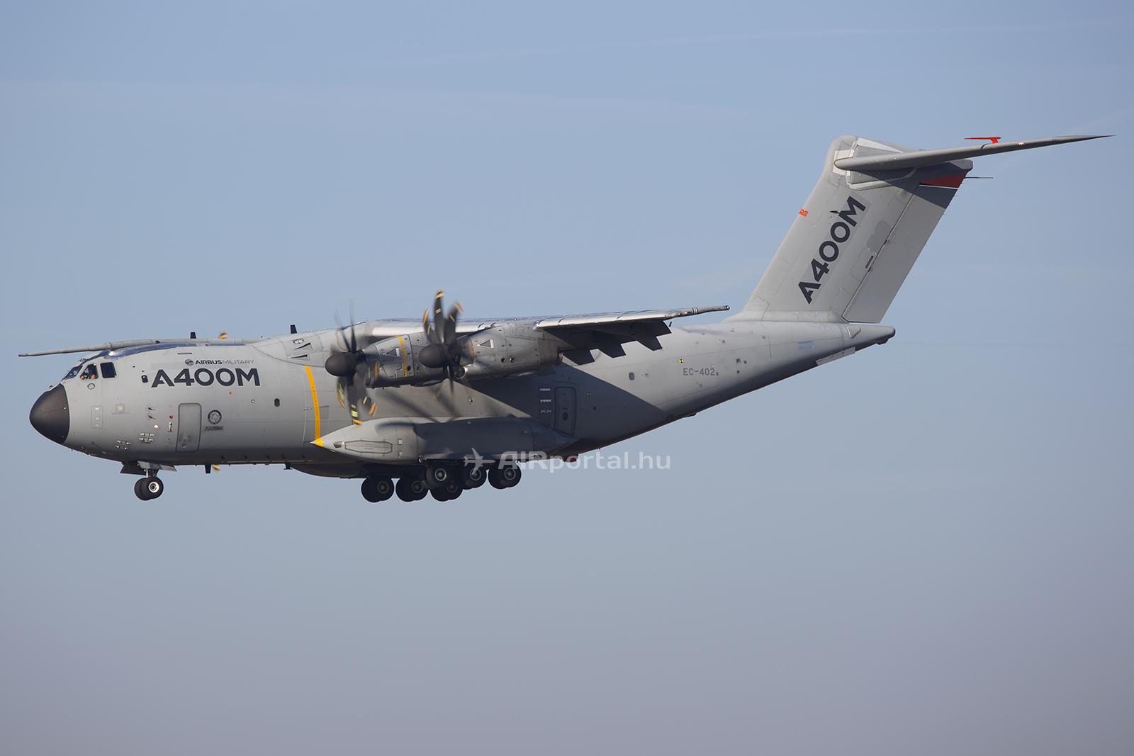 Az A400M MSN2-es számú tesztpéldánya Toulouseban. Képünk illusztráció. (Fotó: AIRportal.hu) | © AIRportal.hu