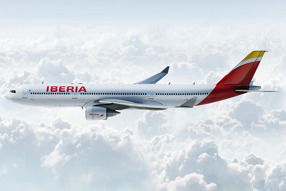 Az Iberia A330-as repülőgépe a légitársaság új festésében. (Forrás: Ibereia)   © AIRportal.hu