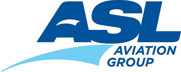 Az új festés egy 737-es gépen és az ASL Csoport logója. (Forrás: ASL Group) | © AIRportal.hu