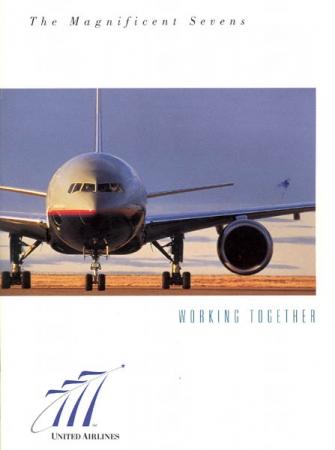 A United Airlines legújabb típusát, a