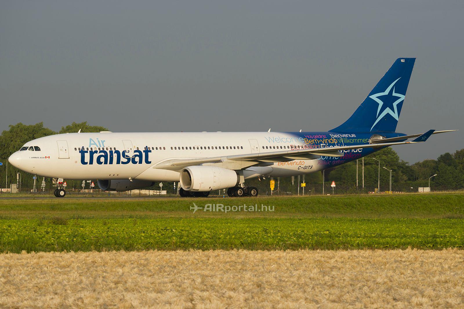 Air Transat  A330-200-as. (Fotó: Bodorics Tamás - AIRportal.hu) | © AIRportal.hu