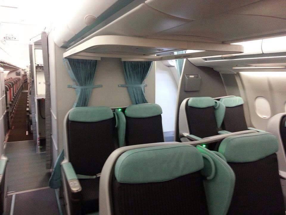 A gép fedélzete. (Fotó: Tunisair) | © AIRportal.hu