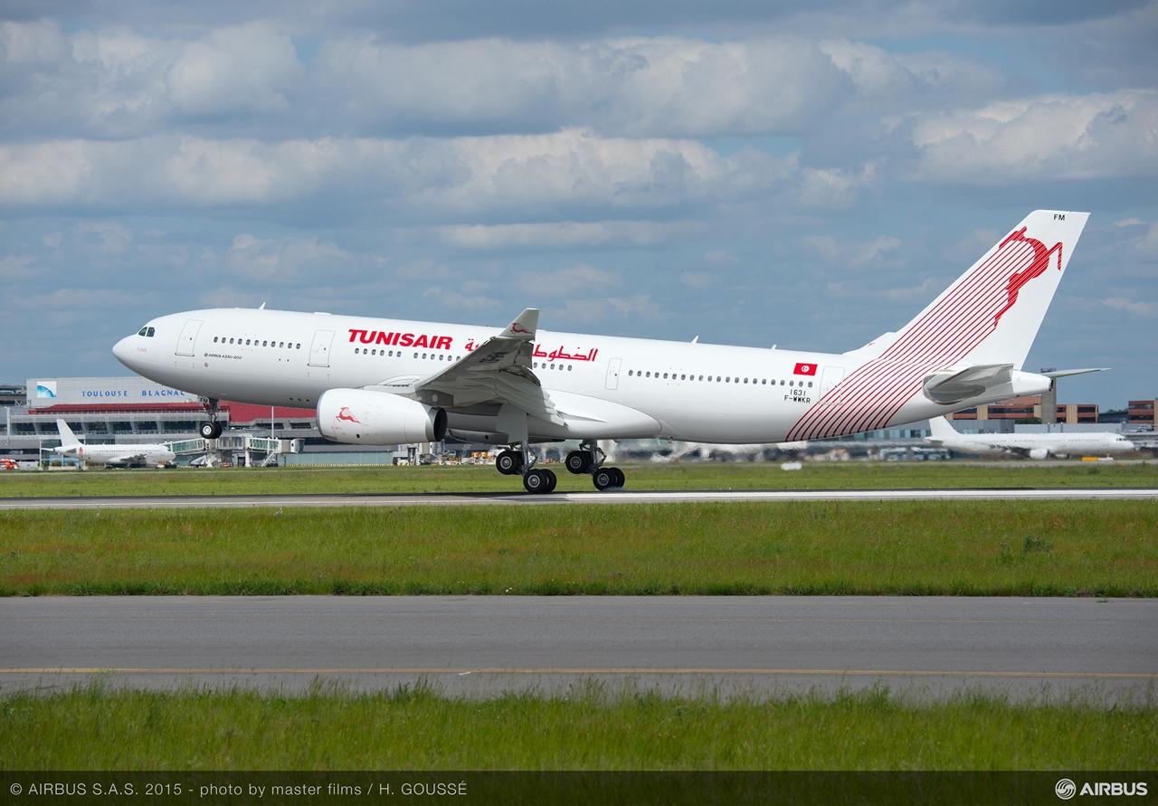 A Tunisair első A330-200-as Airbusa, itt még gyári berepülő lajstromban. (Fotó: Airbus) | © AIRportal.hu
