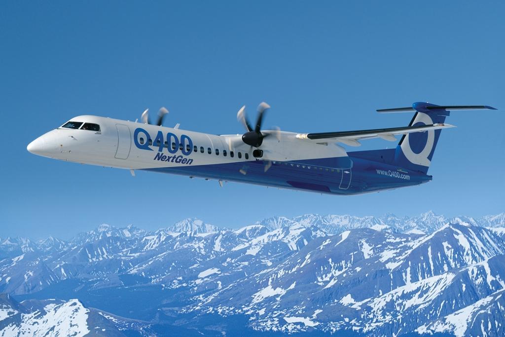 Bombardier Q400 NextGen (Fotó: Bombardier Aerospace) | © AIRportal.hu