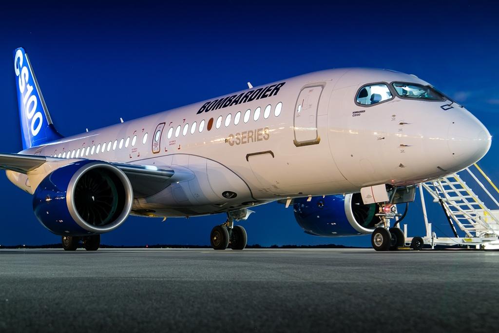 A Cseries 100-as egyik prototípusa. (Fotó: Bombardier Aerospace) | © AIRportal.hu