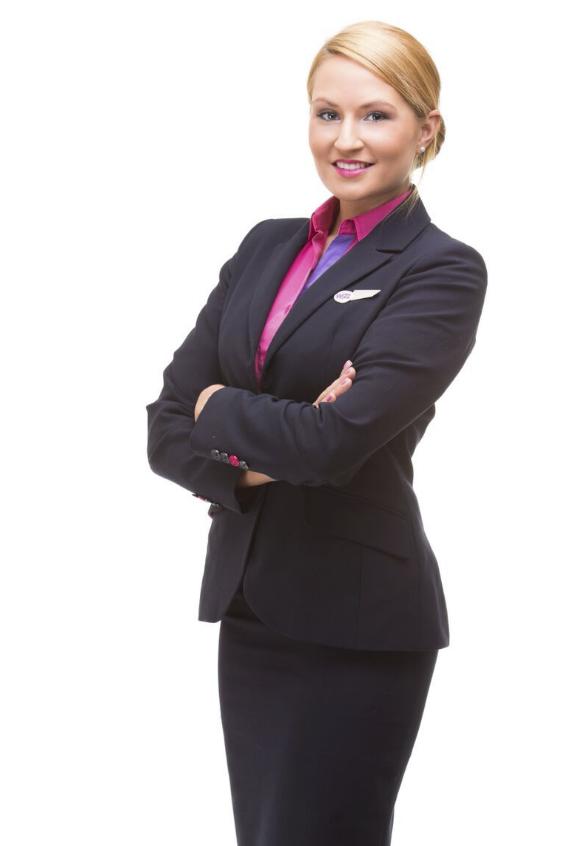 Veréb Éva - az egyik jelölt. - Fotó: Wizz Air   © AIRportal.hu