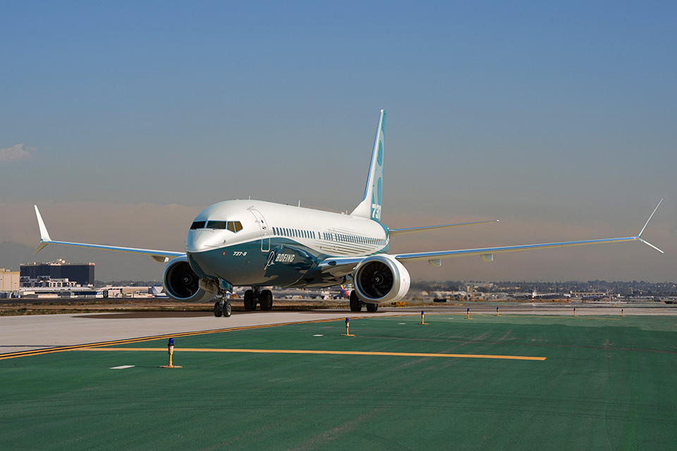 Boeing 737 MAX-8 új szárnyvégeivel és hajtóműveivel kínál kedvezőbb üzemet. (Fotó: Boeing Company) | © AIRportal.hu