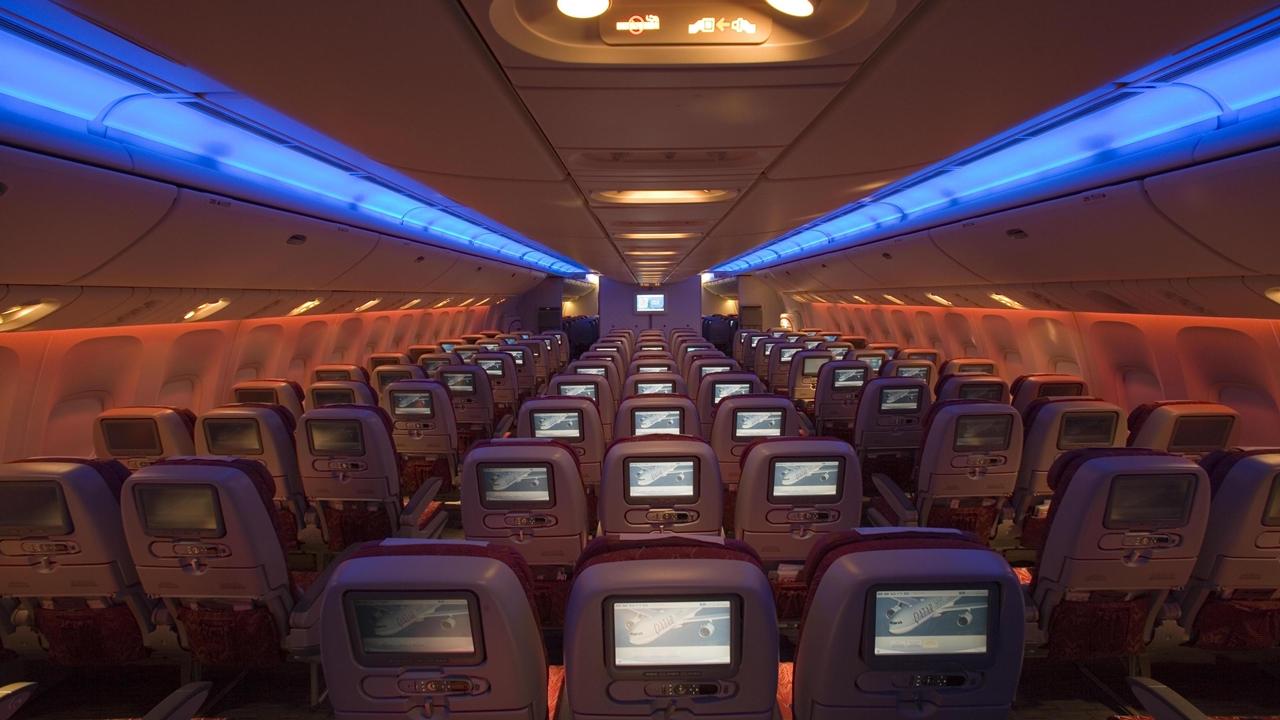... és az Economy Class a Worldlineren. (Fotó: Qatar Airways) | © AIRportal.hu