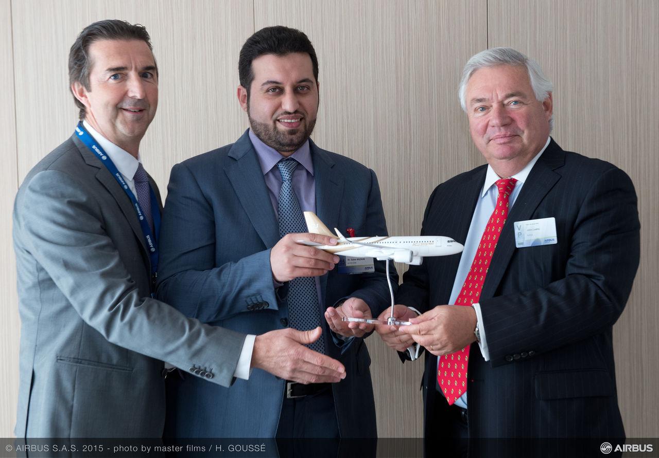 ACJ319neo első üzemeltetője lesz a szaúdi VIP charter cég. Fotó: Airbus | © AIRportal.hu