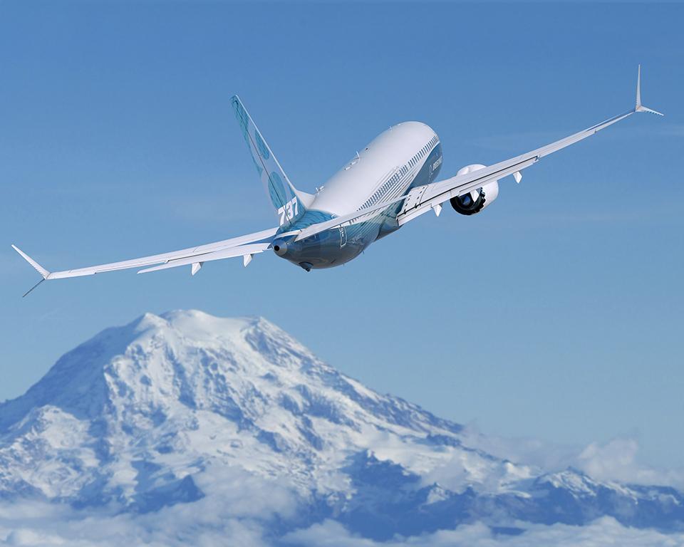 B-737 MAX-8, az elsőként forgalomba álló új 737-es. (Forrás: Boeing Company) | © AIRportal.hu