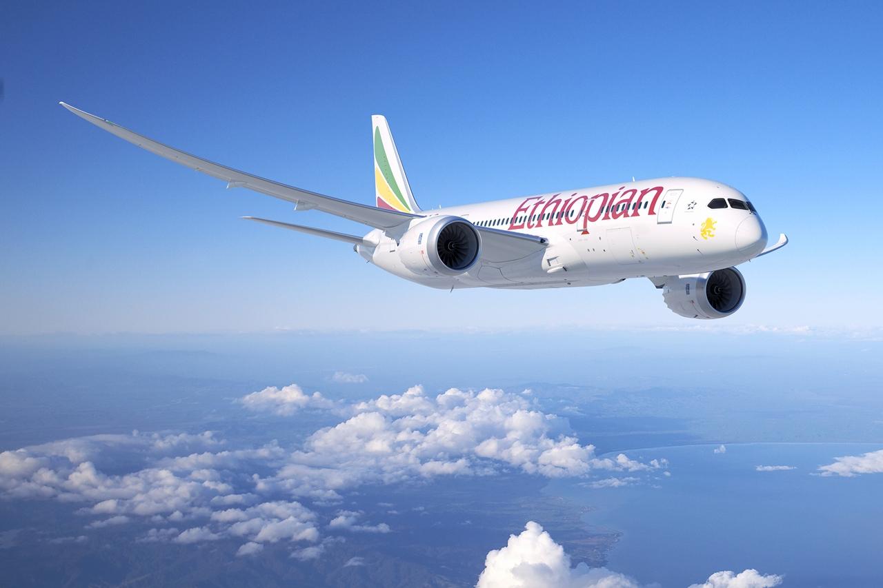 A mai párizsi bejelentésre készített Ethiopian Dreamliner látványterv. (Forrás: Boeing Company) | © AIRportal.hu