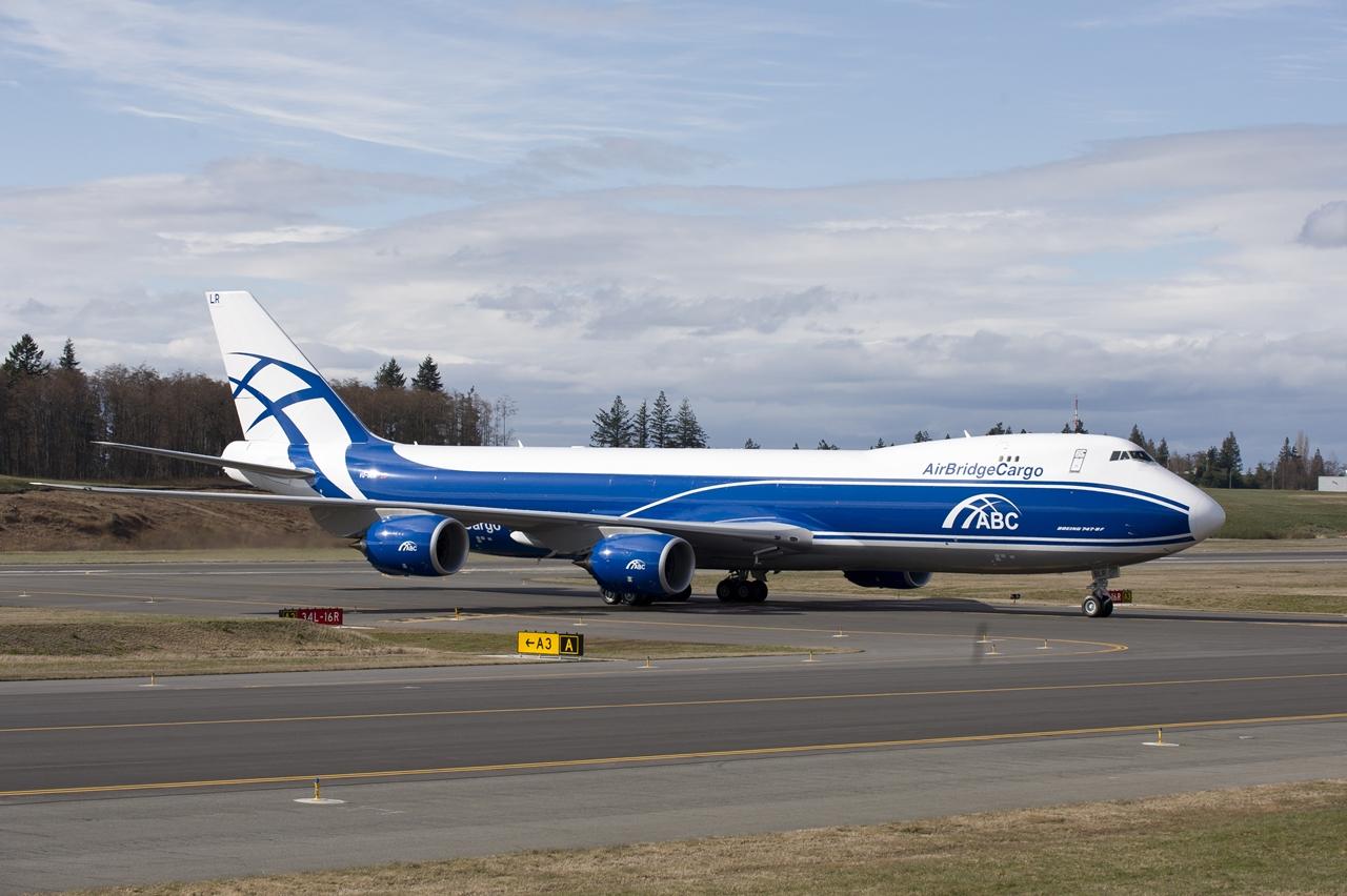 Boeing 747-8F az AirBridgeCargo színeiben. (Fotó: Boeing Company) | © AIRportal.hu