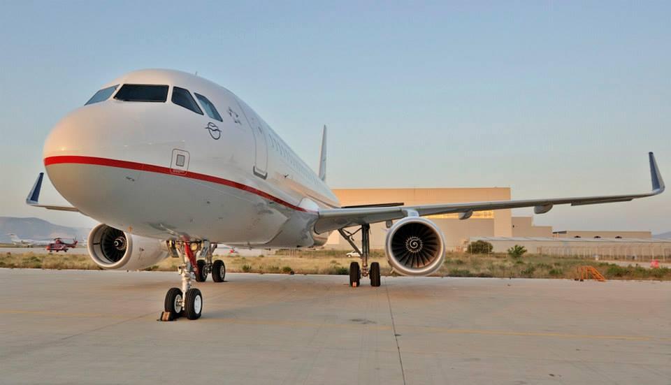 Az első sharkletes A320-as a flottában. (Fotó: Aegean Airlines) | © AIRportal.hu