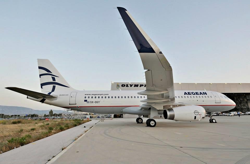 Az AWAS-tól még két sharkletes A320-as érkezik. (Fotó: Aegean Airlines) | © AIRportal.hu