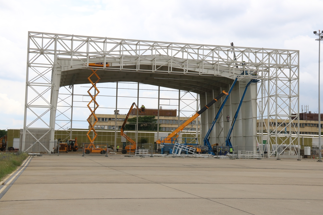 A Budapest Airport mai közleménye szerint szeptember 1-jén adják át az új hangárt. (Fotó: Budapest Airport)   © AIRportal.hu