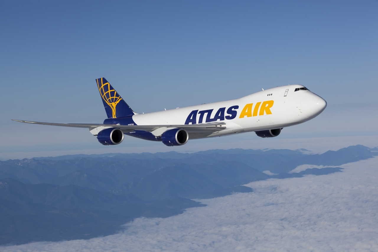 Az Atlas Air egyik Boeing 747-8F gépe. (Fotó: Atlas Air) | © AIRportal.hu