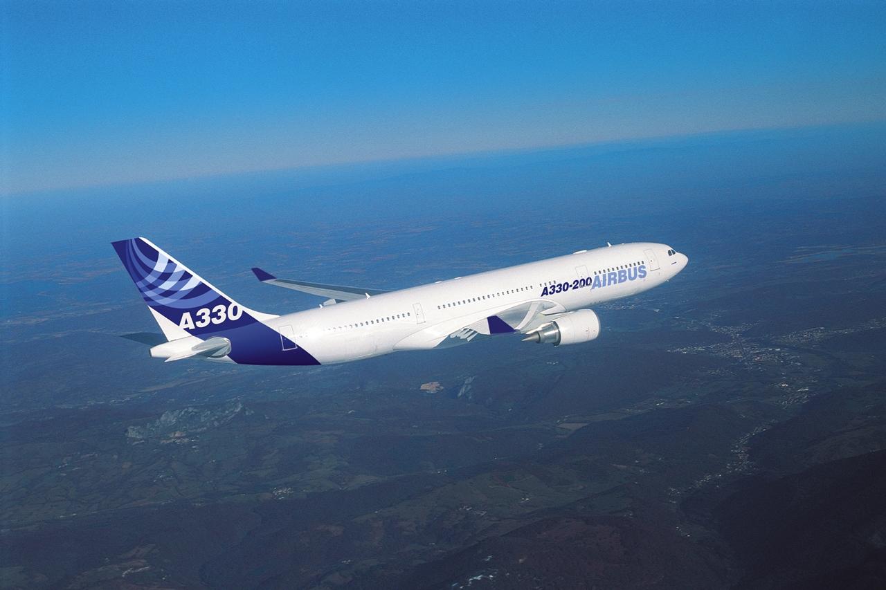 Airbus A330-200-as repülés közben. (Fotó: Airbus) | © AIRportal.hu