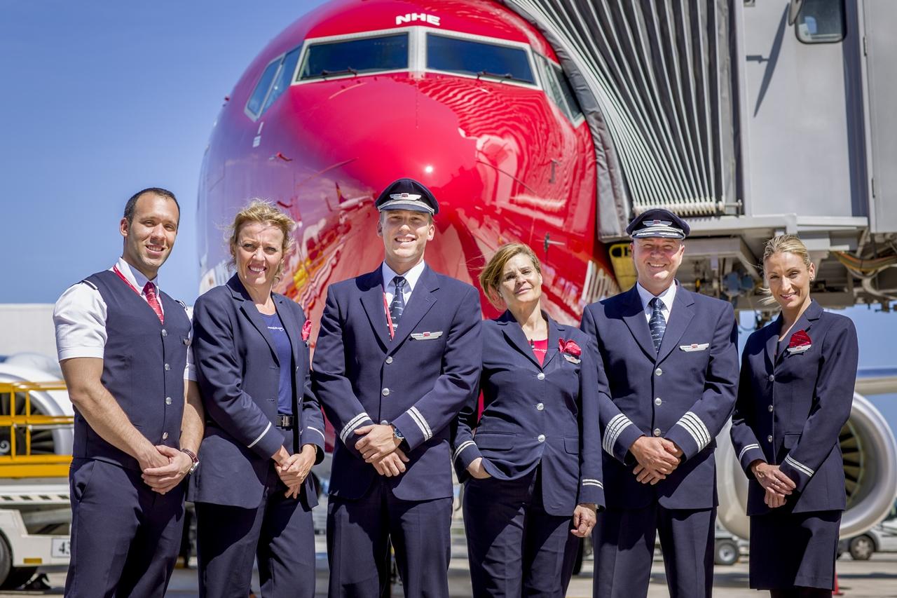 Norwegian Boeing 737 crew. (Fotó: Norwegian Air Shuttle) | © AIRportal.hu