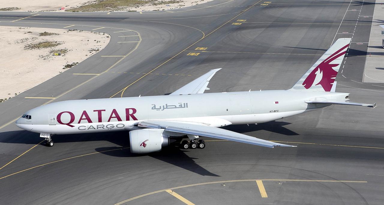 A mai Qatar Cargo-flotta egyelőre egyetlen Boeing típusa, a 777F. (Fotó: Qatar Airways)   © AIRportal.hu