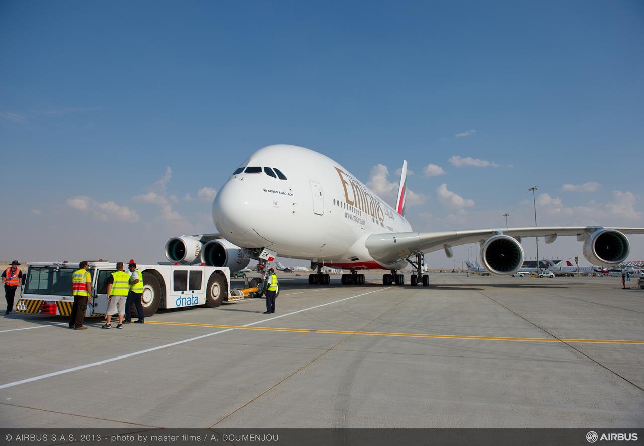 A legnagyobb A380neo szószóló a legnagyobb A380-üzemeltető, az Emirates. (Fotó: Airbus) | © AIRportal.hu