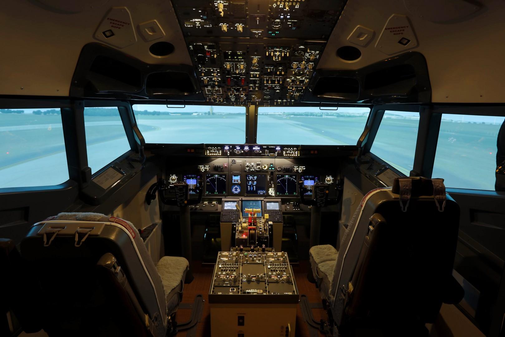 Boeing 737 a legnépszerűbb típus az összes szimulátor közül. | © AIRportal.hu