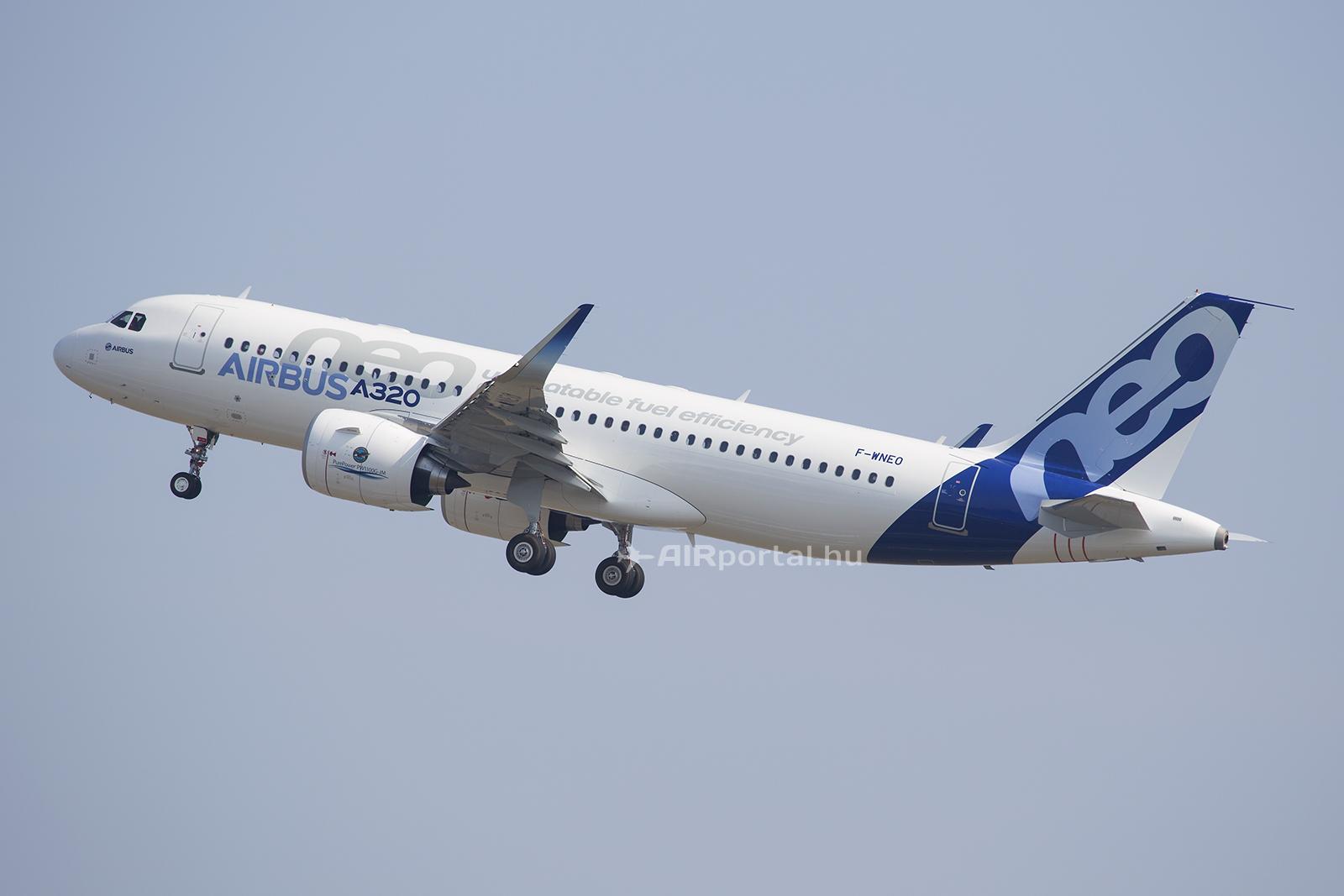 Fotó a prototípus első felszállásáról. (Fotó: AIRportal.hu) | © AIRportal.hu
