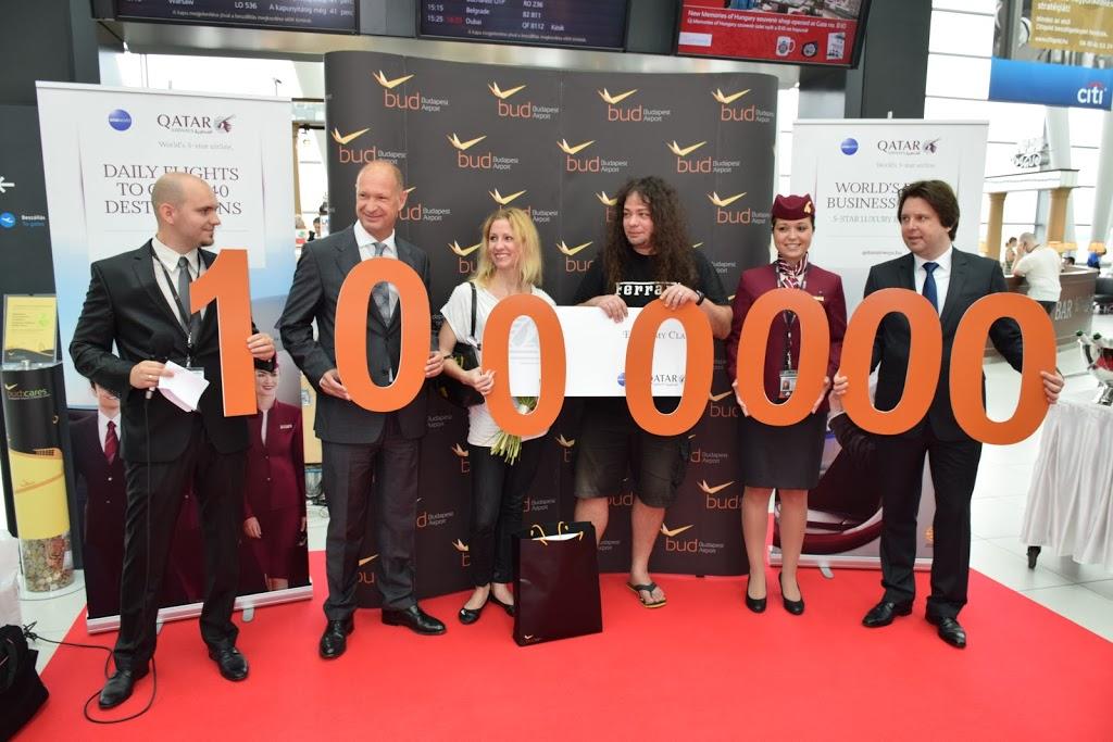 Tavaly egész évben volt 9,155 millió, most a legerősebb hónapban megvolt az 1 millió. (Fotó: Budapest Airport) | © AIRportal.hu