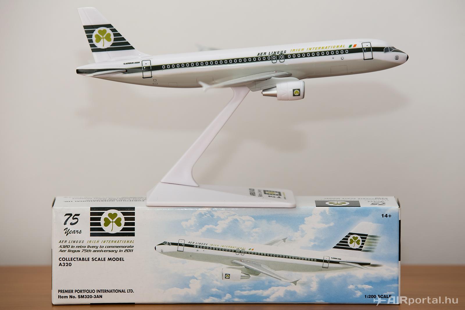 A nyeremény egy darab, ugyanilyen, de bontatlan csomagolású modell! | © AIRportal.hu