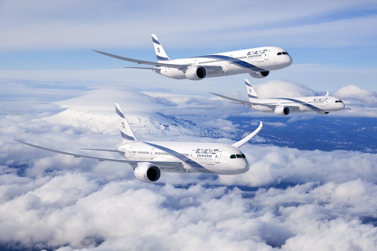 Boeing 787-8 és 787-9 El Al színekben.(Fotó: Boeing Company via El Al) | © AIRportal.hu