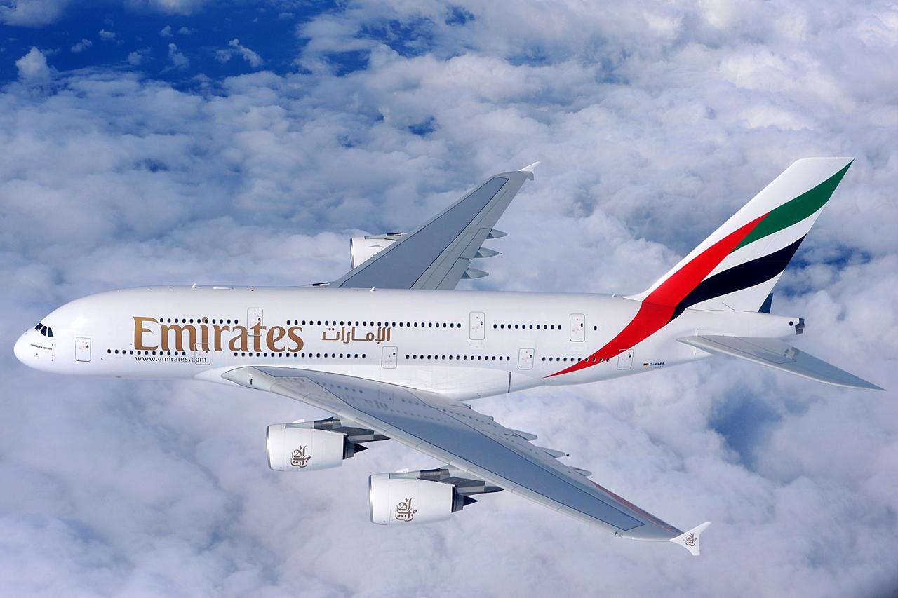 A dubaji légitársaság egyik A380-800-asa. A flottának jelenleg épp 65 darab ilyan Superjumbója van. (Fotó: Airbus)   © AIRportal.hu
