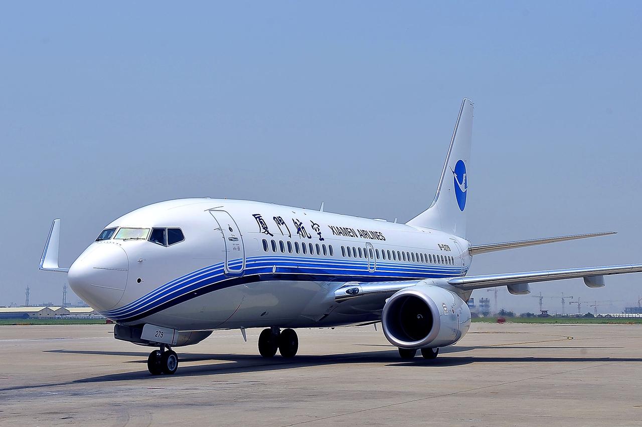 Boeing 737-700NG Xiamen színekben. (Fotó: Boeing Company) | © AIRportal.hu
